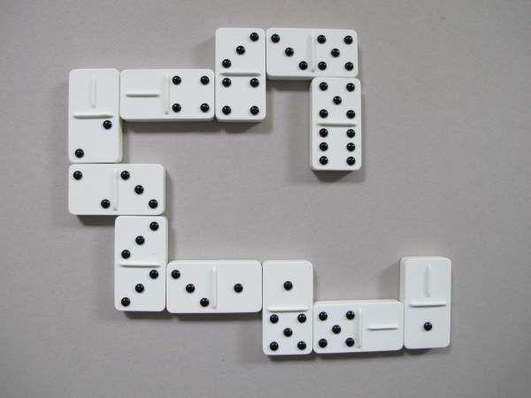 Domino Tast Domino mit erhöhten Punkten