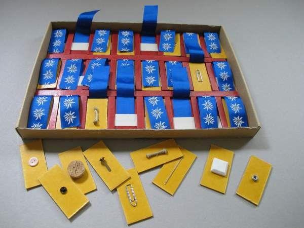 Gegenstände-Memory