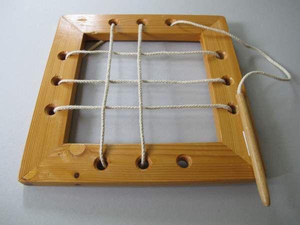 Webrahmen aus Holz