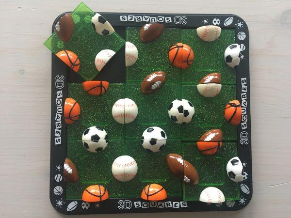 Quadro Puzzle Sport Bälle