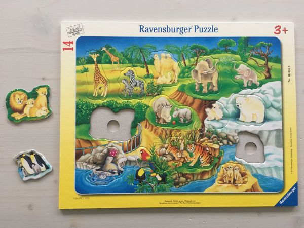 Zoo Puzzle 14-teilig