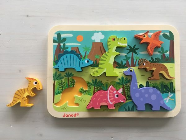 Dinosaurier Puzzle 7-teilig