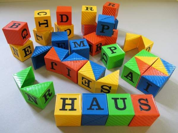 Buchstabenwürfel Busy Block`s