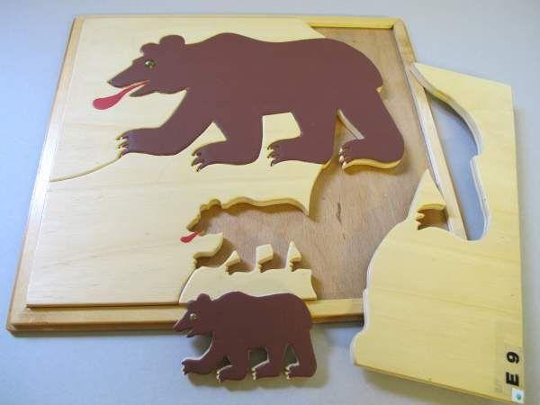 Bären Puzzle