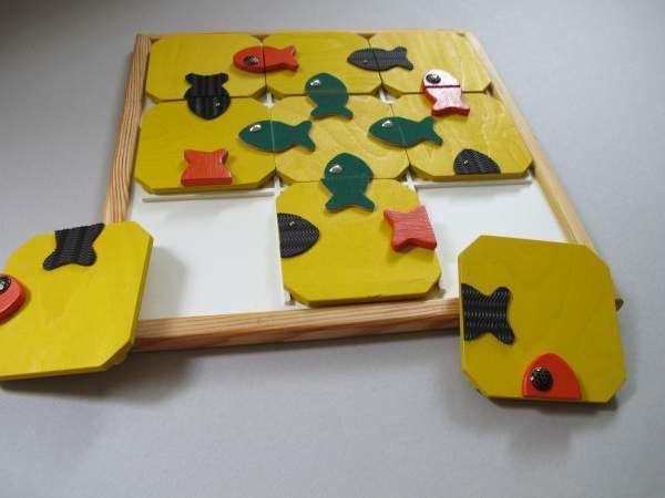 Quadro Puzzle Fisch Fisch