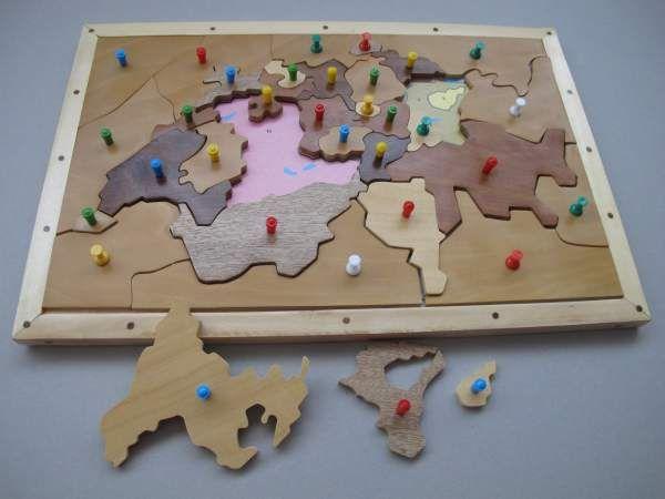 Schweizerkreuz-Puzzle