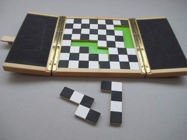 Schachbrett-Puzzle